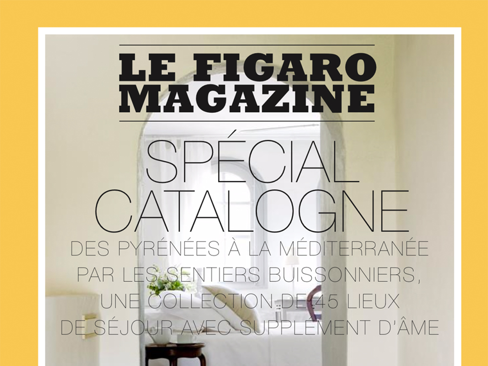 Le Figaro Cal Miqueló turisme Catalunya